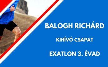 Balogh Richárd exatlon, kihívó