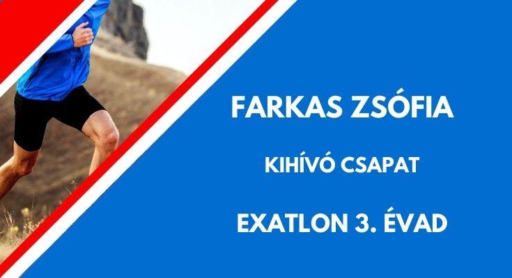 Farkas Zsófia Exatlon, kihívó
