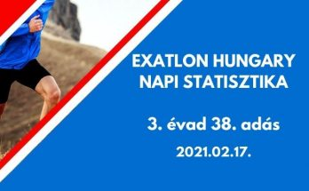 exatlon hungary napi statisztika 3 évad 38. adás, 2021.02.17