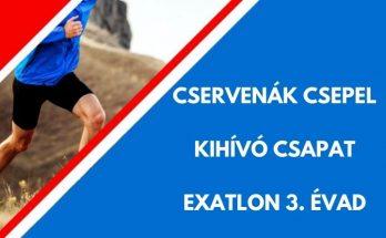 CSERVENÁK CSEPEL EXATLON KIHÍVÓ