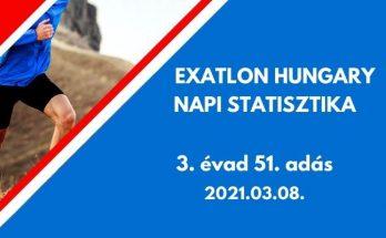 exatlon hungary napi statisztika 3. évad 51. adás, 2021.03.08