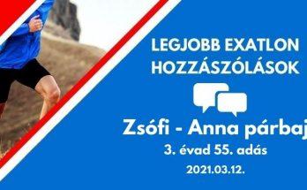 exatlon kommentek, Zsófi-Anna párbaj