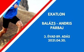Balázs Andris párbaj Exatlon