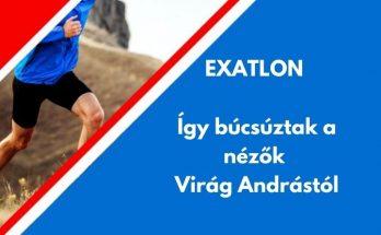 Exatlon Virág András kommentek