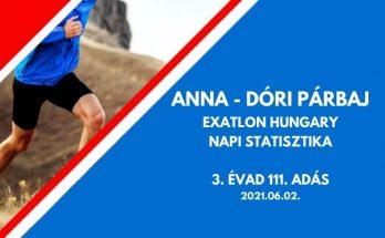 Anna Dóri párbaj, exatlon 3. évad 111. adás